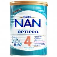 Детское молочко NAN 4 OPTIPRO для детей с 18 месяцев, 800 г